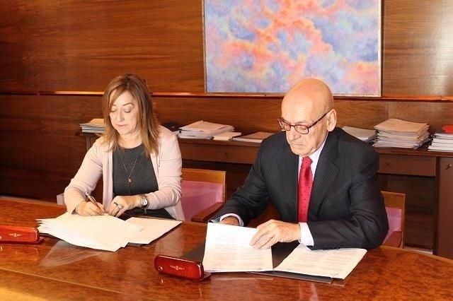 Diputación de Álava y la Cámara de Comercio