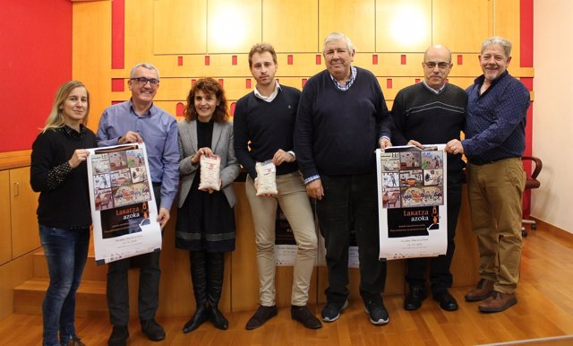 Feria alimentaria de producto local 'Laratza azoka' presentación