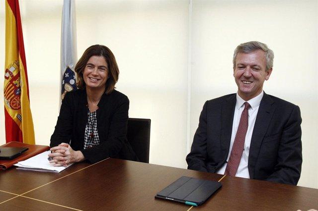Nota Vicepresidencia: Xunta E Ministerio De Xustiza Analizan A Evoluciön Cara Un