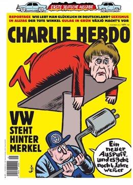Primer número de la revista 'Charlie Hebdo' en Alemania