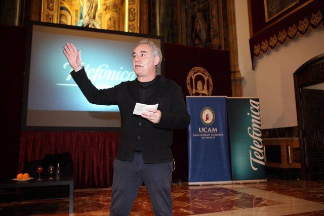 Np Ferran Adrià Ucam
