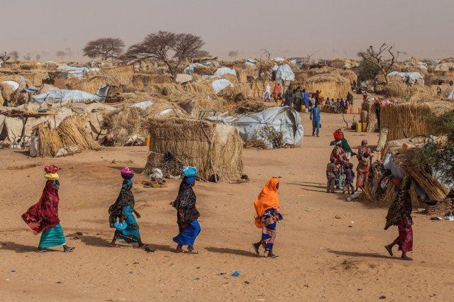 Desplazados por el conflicto de Boko Haram en Níger