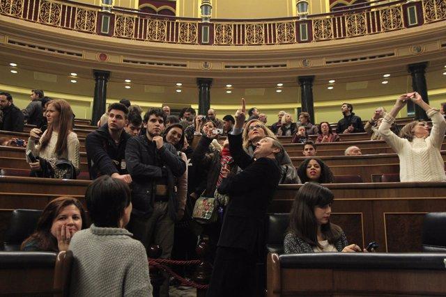 Jornada de puertas abiertas en el Congreso