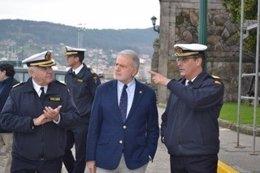 Luís Caramés (Grupo Colmeiro), en Marín