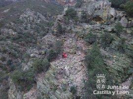 Rescatado un senderista de 68 años que se había extraviado en Las Batuecas, en Salamanca