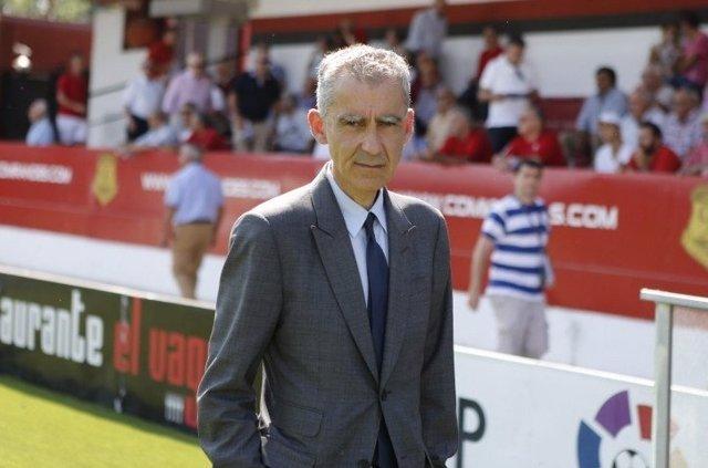 Carlos Terrazas, ex entrenador del Mirandés