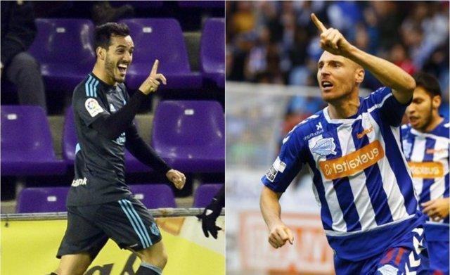 Juanmi y Toquero en la Copa del Rey