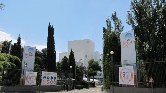 Fábrica de la empresa Tereos Syral en Zaragoza