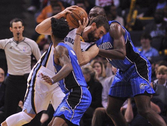 Marc Gasol en el Memphis Grizzlies - Orlando Magic