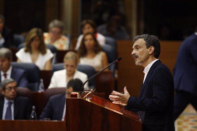 José Manuel López, de Podemos