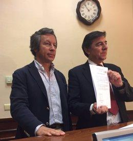Carlos Floriano y José Antonio Bermúdez de Castro, del PP