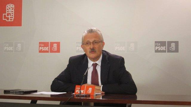 El diputado socialista en el Congreso Antonio Trevín