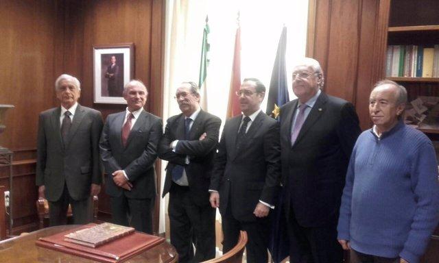 Reconocimiento gobernadores y subdelegados en Málaga Briones