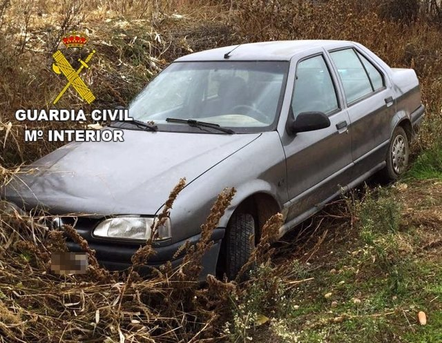 Uno de los vehículos recuperados