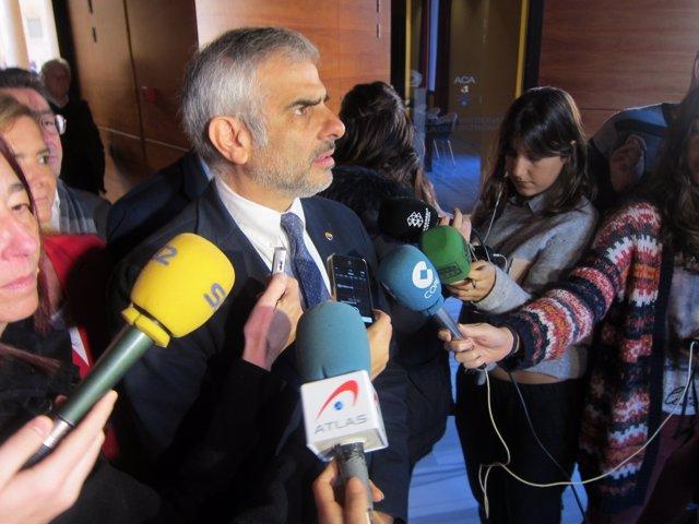 El portavoz de C's en el Parlament C.Carrizosa
