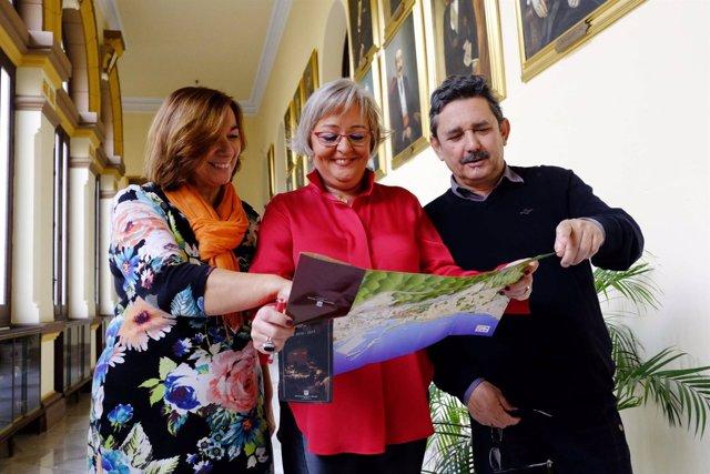 Teresa Porras presenta la ruta de belenes