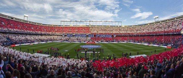 El Vicente Calderon, Atlético de Madrid contra el Granada