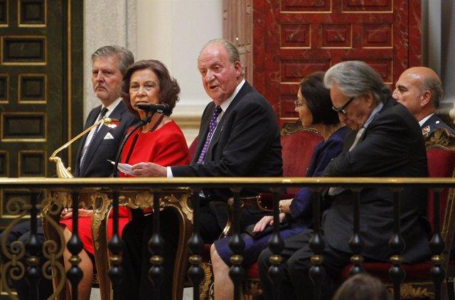 Los Reyes Don Juan Carlos y Doña Sofía/ Europa Press