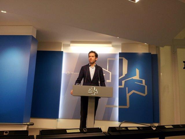 El portavoz parlamentario del PP vasco, Borja Sémper