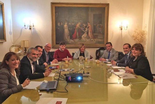 Reunión de diputaciones de la Ruta de la Plata
