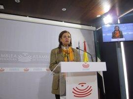 """Blanco-Morales espera que """"todos"""" los grupos parlamentarios presenten enmiendas para mejorar el presupuesto"""