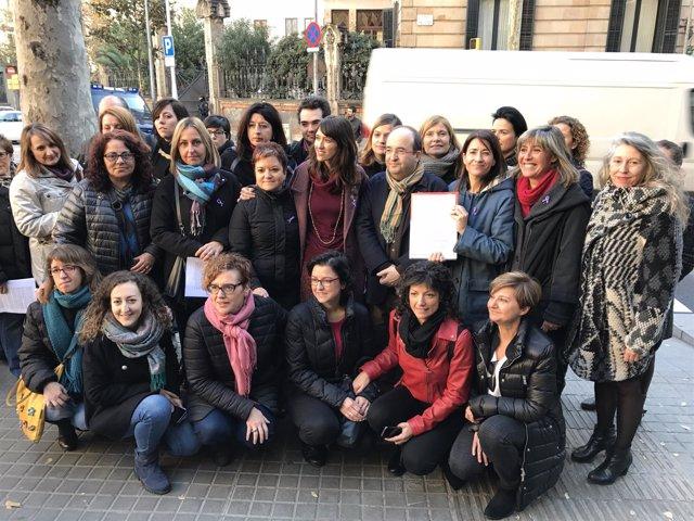 El PSC reclama un Pacto de Estado contra la violencia machista
