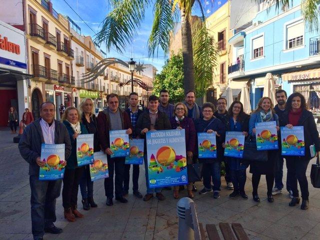 El PP emprende su campaña de solidaridad de Navidad por tercer año.