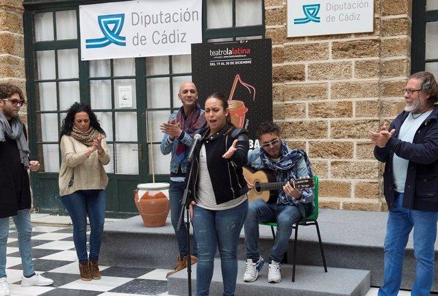 Navidad flamenca en Diputación