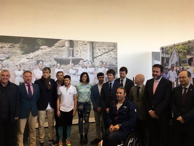 Inauguración del Museo del Deporte en Fibes, en Sevilla
