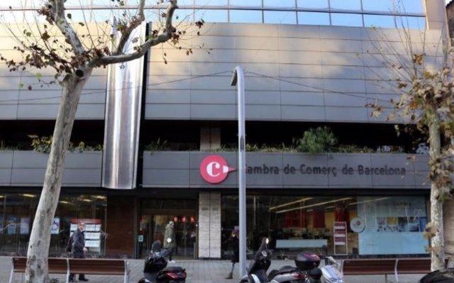 La Cámara de Comercio de Barcelona.