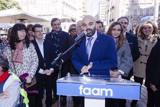 Acto de la FAAM con motivo del Día de las Personas con Discapacidad