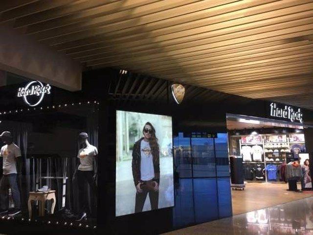Hard Rock en el aeropuerto de Palma