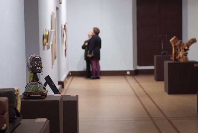 Exposición con las obras del XXIII Premio Unicaja de Artesanía.