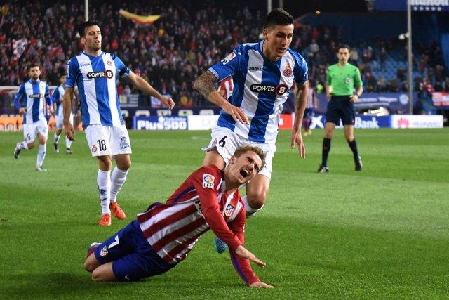 Atlético Madrid contra RCD Espanyol - Griezmann