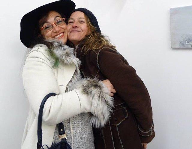 Leticia de Hoyos (Izq) junto a Sofía Tornero