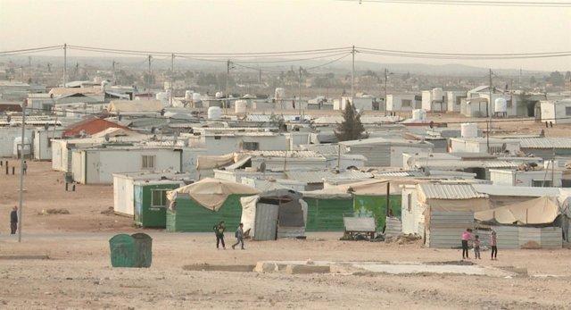 Campo de refugiados de Zaatari (Jordania)