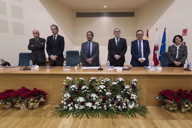 DAVID S. BUSTAMANTE 02/12/2016TORRELAVEGA/ Cantabriael Ministro De Fomento Iñigo