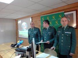 14 detenidos que guardaban más de tres toneladas de hachís en una finca de Algeciras