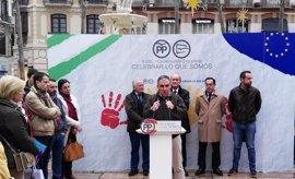 """PP de Málaga defiende """"un gran pacto"""" sobre la Constitución para que """"nadie"""" la cuestione"""