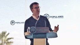 """Feijóo dice que Rajoy está """"dispuesto"""" a seguir pactando con el PSOE """"los temas importantes"""""""