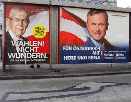 Los dos candidatos en Austria lanzan mensajes de confianza tras votar