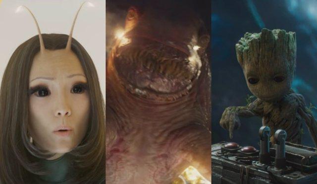 Mantis, el Abilik y Groot