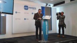 """PP vasco cree que quienes reclaman una reforma de la Constitución """"se quieren cargar España"""""""