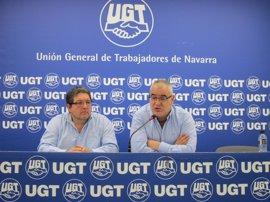 La construcción ha perdido el 67,6% del empleo desde 2008 en Navarra, según UGT