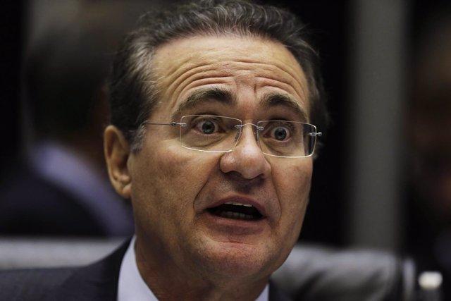 Brazil's Senate President Calheiros