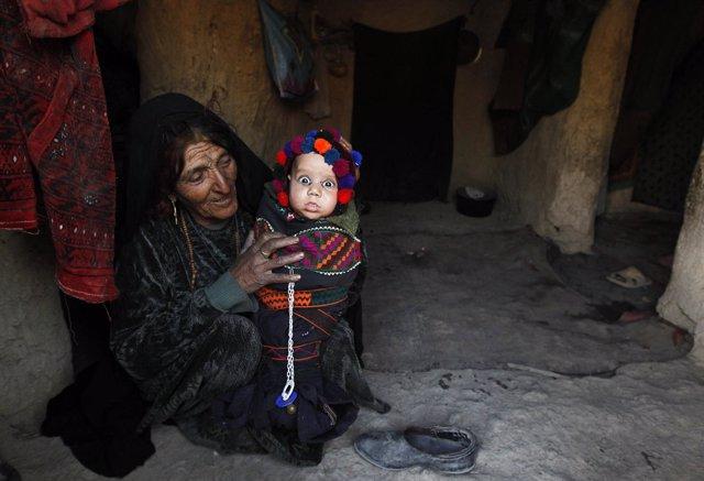 Hambre en Afganistán