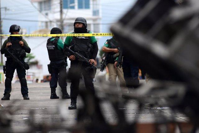 Policia de Veracruz (México)