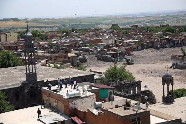 Distrito de Sur, en Diyarbakir