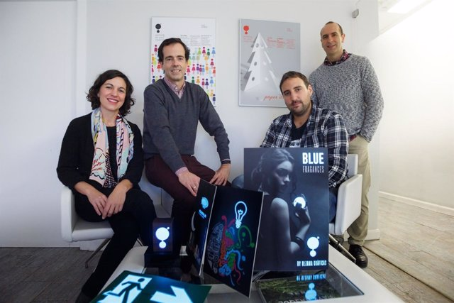 Gurutze Pérez, José Ignacio Oteiza, Borja Muerza Y Eugenio Gubía