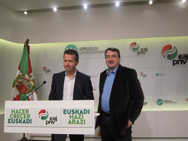 Aitor Esteban y Jokin Bildarratz